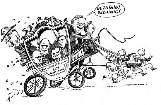 Cartoon Bezuinig